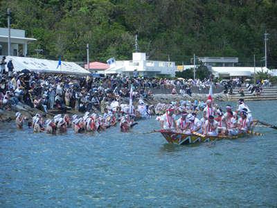 9月4日は国の重要無形民俗文化財ウンガミ(海神祭)