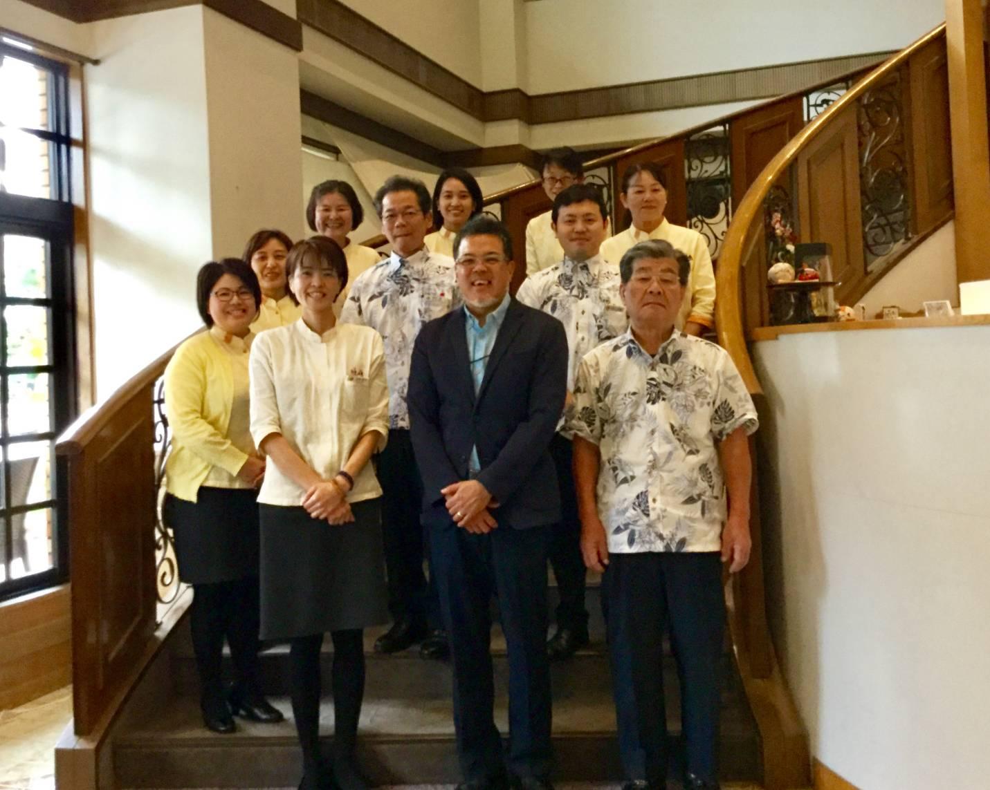 今年ありがとうございました!沖縄県那覇市 ホテルサンパレス球陽館  糸満市 いとまんピースフルイルミネーション