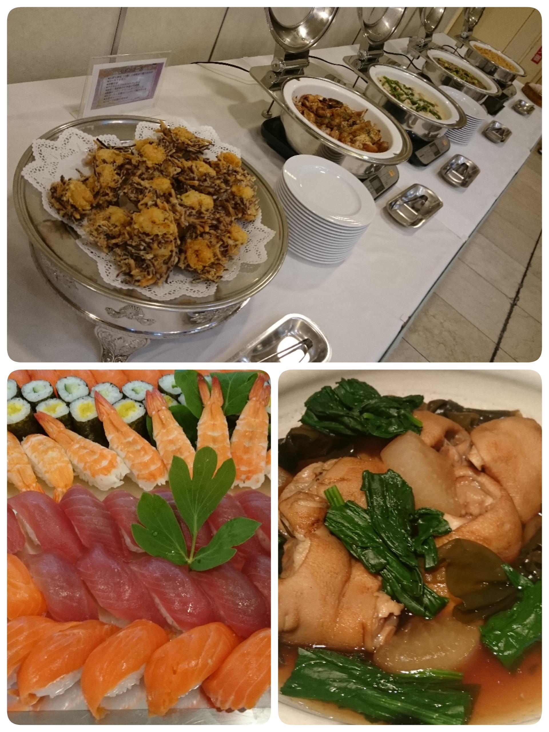 宴会料理と居酒屋さんのお料理