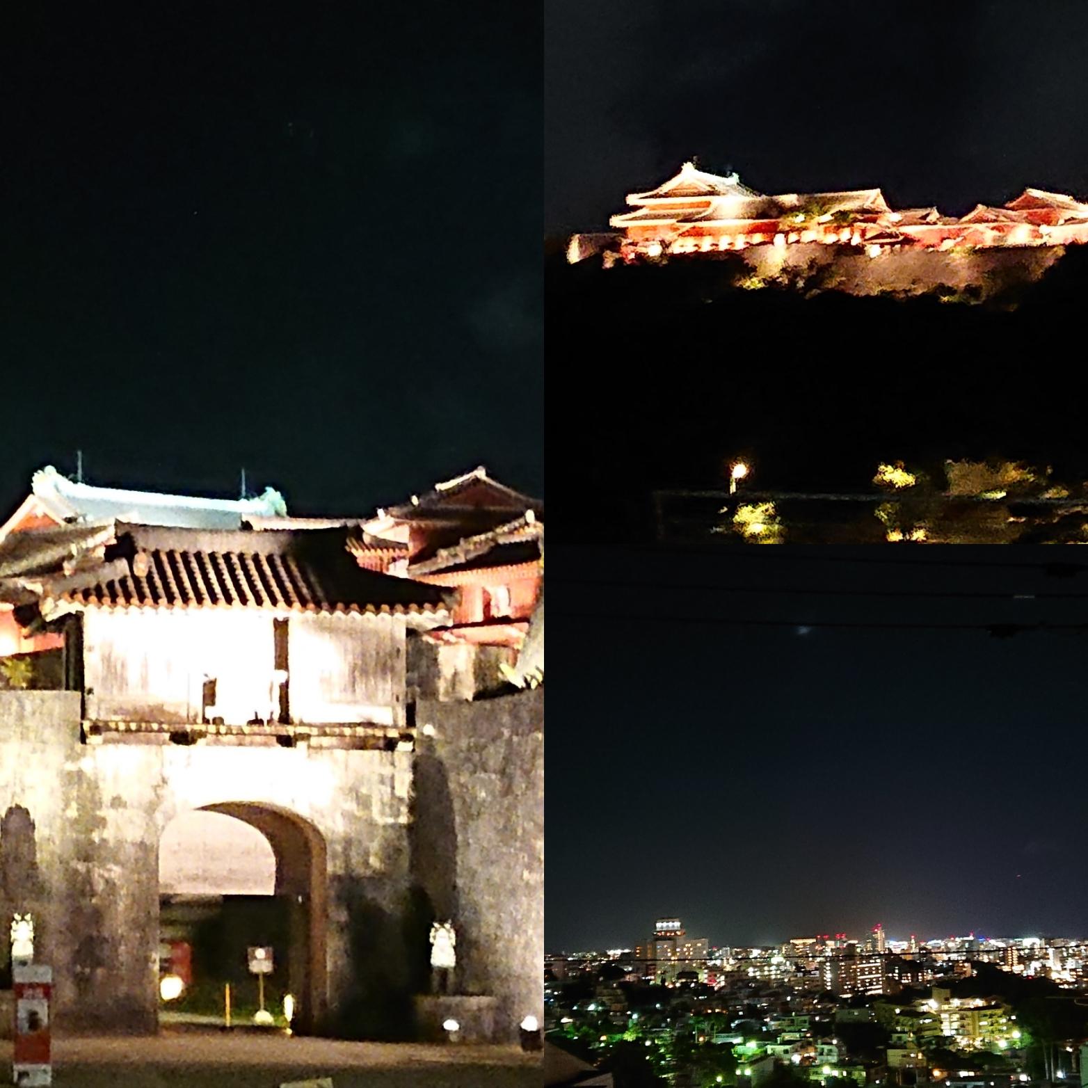 夜の首里城お散歩♪