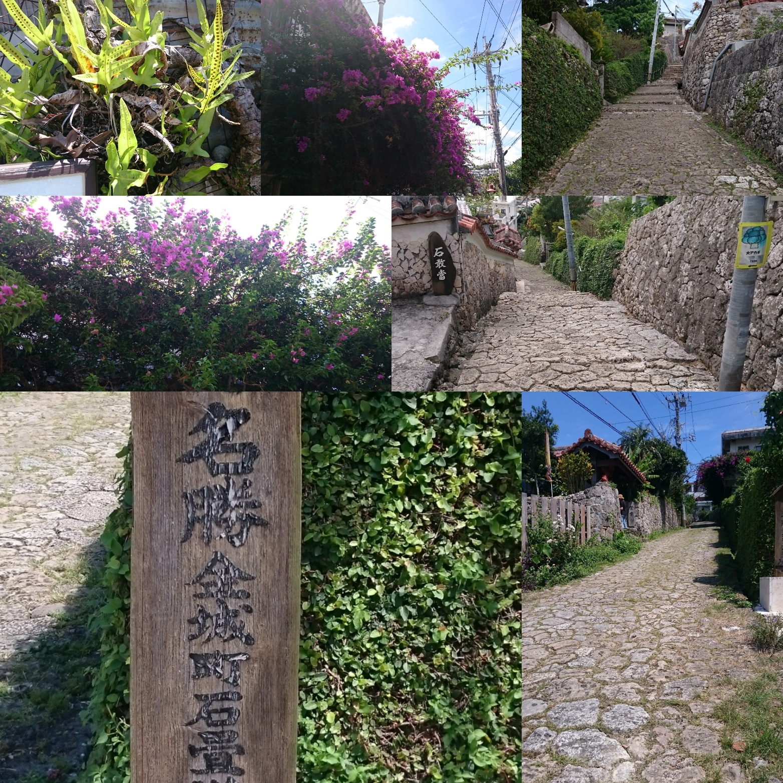 首里金城町の石畳道