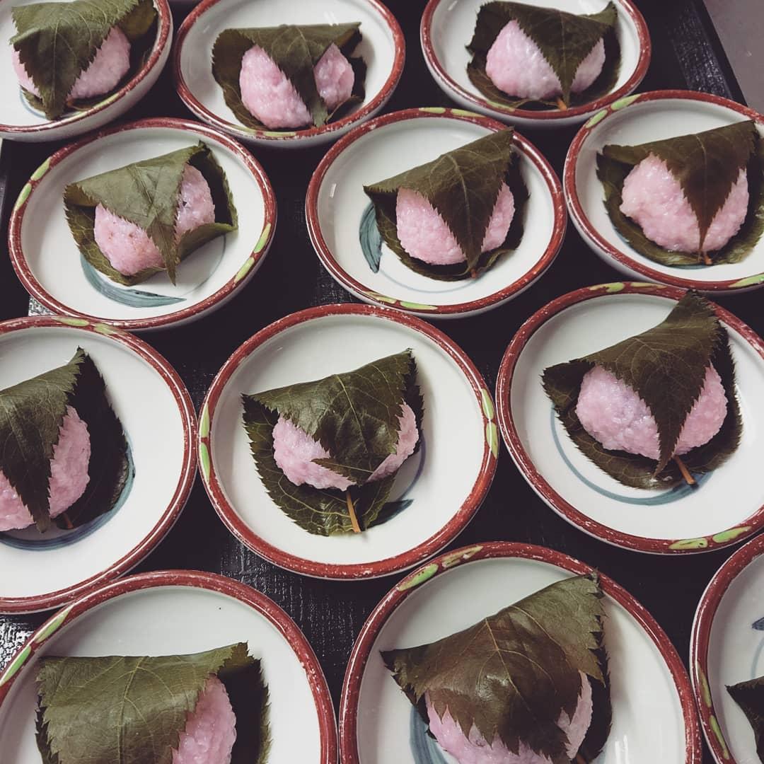 桜餅 さくらもち ランチ松花堂