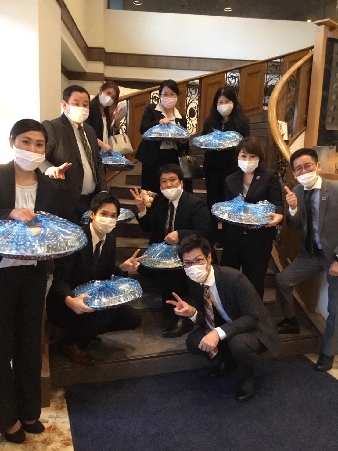 キムタカ税理士法人様 株式会社キムタカ経営様 ご利用ありがとうございました。会議室 オードブル