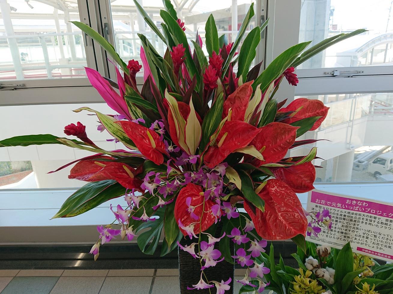 おきなわ「お花で元気いっぱいプロジェクト」 ゆいれーる